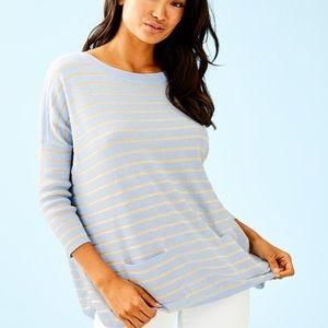 EUC Lilly Pulitzer Cobo Boatneck Sweater